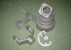 Variety of castings, Steel